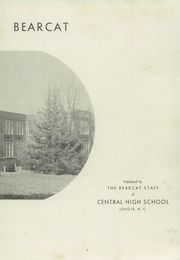 Page 7, 1949 Edition, Lenoir High School - Bearcat Yearbook (Lenoir, NC) online yearbook collection