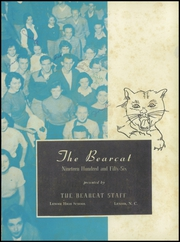Page 5, 1956 Edition, Lenoir High School - Bearcat Yearbook (Lenoir, NC) online yearbook collection