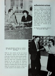 Page 14, 1957 Edition, Lenoir High School - Bearcat Yearbook (Lenoir, NC) online yearbook collection