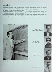 Page 15, 1957 Edition, Lenoir High School - Bearcat Yearbook (Lenoir, NC) online yearbook collection