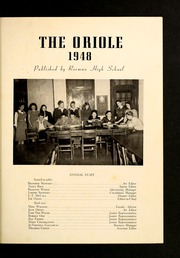 Page 5, 1948 Edition, Rosman High School - Oriole Yearbook (Rosman, NC) online yearbook collection
