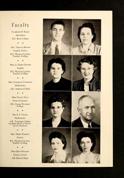Page 9, 1948 Edition, Rosman High School - Oriole Yearbook (Rosman, NC) online yearbook collection