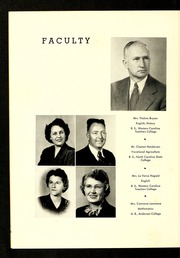 Page 10, 1950 Edition, Rosman High School - Oriole Yearbook (Rosman, NC) online yearbook collection