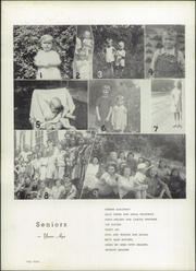 Page 12, 1952 Edition, Rosman High School - Oriole Yearbook (Rosman, NC) online yearbook collection