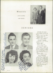 Page 14, 1952 Edition, Rosman High School - Oriole Yearbook (Rosman, NC) online yearbook collection