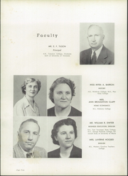 Page 8, 1952 Edition, Rosman High School - Oriole Yearbook (Rosman, NC) online yearbook collection