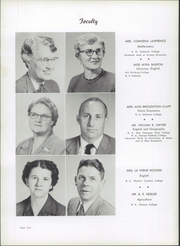 Page 8, 1955 Edition, Rosman High School - Oriole Yearbook (Rosman, NC) online yearbook collection