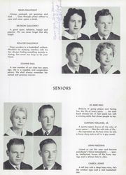 Page 15, 1957 Edition, Rosman High School - Oriole Yearbook (Rosman, NC) online yearbook collection