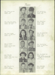 Page 11, 1951 Edition, Atkins High School - Maroon and Gold Yearbook (Winston Salem, NC) online yearbook collection