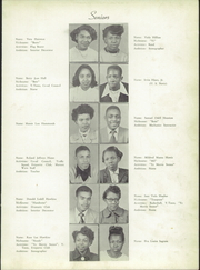 Page 13, 1951 Edition, Atkins High School - Maroon and Gold Yearbook (Winston Salem, NC) online yearbook collection