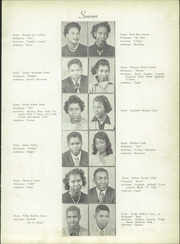 Page 15, 1951 Edition, Atkins High School - Maroon and Gold Yearbook (Winston Salem, NC) online yearbook collection