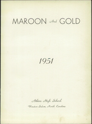 Page 5, 1951 Edition, Atkins High School - Maroon and Gold Yearbook (Winston Salem, NC) online yearbook collection