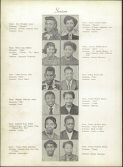 Page 8, 1951 Edition, Atkins High School - Maroon and Gold Yearbook (Winston Salem, NC) online yearbook collection