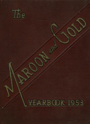 Page 1, 1953 Edition, Atkins High School - Maroon and Gold Yearbook (Winston Salem, NC) online yearbook collection