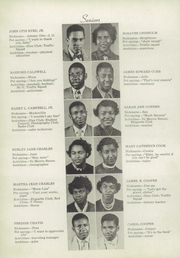 Page 10, 1953 Edition, Atkins High School - Maroon and Gold Yearbook (Winston Salem, NC) online yearbook collection