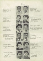 Page 8, 1953 Edition, Atkins High School - Maroon and Gold Yearbook (Winston Salem, NC) online yearbook collection