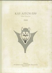 Page 5, 1949 Edition, Grainger High School - Kay Aitch Ess Yearbook (Kinston, NC) online yearbook collection