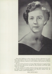 Page 11, 1955 Edition, Grainger High School - Kay Aitch Ess Yearbook (Kinston, NC) online yearbook collection