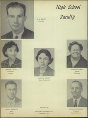 Page 10, 1953 Edition, Aurora High School - Treasure Chest Yearbook (Aurora, NC) online yearbook collection