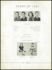 Page 14, 1941 Edition, Marion High School - Hylander Yearbook (Marion, NC) online yearbook collection