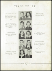 Page 15, 1941 Edition, Marion High School - Hylander Yearbook (Marion, NC) online yearbook collection