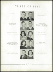 Page 16, 1941 Edition, Marion High School - Hylander Yearbook (Marion, NC) online yearbook collection