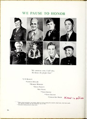 Page 10, 1945 Edition, Marion High School - Hylander Yearbook (Marion, NC) online yearbook collection