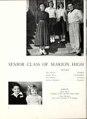 Page 12, 1952 Edition, Marion High School - Hylander Yearbook (Marion, NC) online yearbook collection