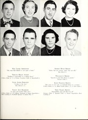 Page 13, 1952 Edition, Marion High School - Hylander Yearbook (Marion, NC) online yearbook collection
