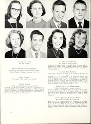 Page 16, 1952 Edition, Marion High School - Hylander Yearbook (Marion, NC) online yearbook collection