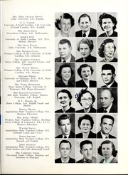 Page 9, 1952 Edition, Marion High School - Hylander Yearbook (Marion, NC) online yearbook collection