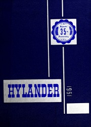 Marion High School - Hylander Yearbook (Marion, NC) online yearbook collection, 1961 Edition, Page 1