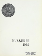 Page 5, 1965 Edition, Marion High School - Hylander Yearbook (Marion, NC) online yearbook collection