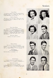 Page 13, 1948 Edition, Henderson High School - Pep Pac Yearbook (Henderson, NC) online yearbook collection