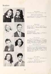 Page 14, 1948 Edition, Henderson High School - Pep Pac Yearbook (Henderson, NC) online yearbook collection