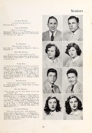Page 17, 1948 Edition, Henderson High School - Pep Pac Yearbook (Henderson, NC) online yearbook collection