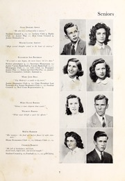 Page 9, 1948 Edition, Henderson High School - Pep Pac Yearbook (Henderson, NC) online yearbook collection
