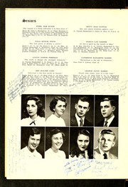 Page 14, 1950 Edition, Henderson High School - Pep Pac Yearbook (Henderson, NC) online yearbook collection