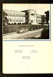 Page 6, 1950 Edition, Henderson High School - Pep Pac Yearbook (Henderson, NC) online yearbook collection