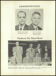 Page 12, 1952 Edition, Henderson High School - Pep Pac Yearbook (Henderson, NC) online yearbook collection