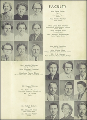 Page 11, 1955 Edition, Hamlet High School - Choo Choo Yearbook (Hamlet, NC) online yearbook collection
