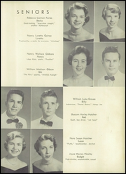 Page 17, 1955 Edition, Hamlet High School - Choo Choo Yearbook (Hamlet, NC) online yearbook collection