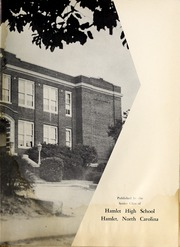 Page 7, 1958 Edition, Hamlet High School - Choo Choo Yearbook (Hamlet, NC) online yearbook collection