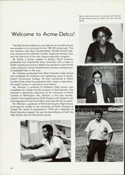 Acme Delco High School - Trojan Yearbook (Delco, NC) online yearbook collection, 1982 Edition, Page 98