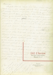 Page 5, 1942 Edition, Belmont High School - Clarion Yearbook (Belmont, NC) online yearbook collection