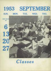 Page 13, 1953 Edition, Belmont High School - Clarion Yearbook (Belmont, NC) online yearbook collection
