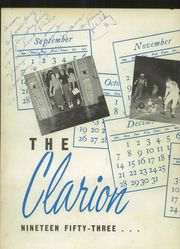 Page 6, 1953 Edition, Belmont High School - Clarion Yearbook (Belmont, NC) online yearbook collection