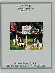 Page 5, 1988 Edition, Oak Ridge Military Academy - Dress Parade Yearbook (Oak Ridge, NC) online yearbook collection
