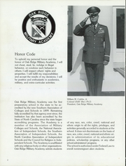 Page 6, 1988 Edition, Oak Ridge Military Academy - Dress Parade Yearbook (Oak Ridge, NC) online yearbook collection