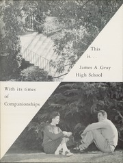 Page 8, 1958 Edition, Gray High School - Blue and Gold Yearbook (Winston Salem, NC) online yearbook collection